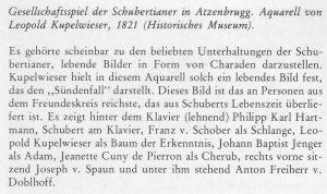Schubert-Scharade Text a