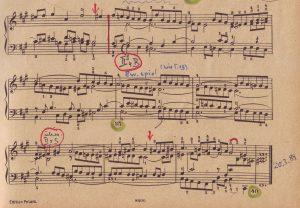 Bach-Fuge fis letzter Teil