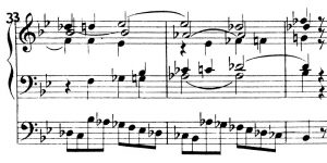 Bach Orgel G-moll b