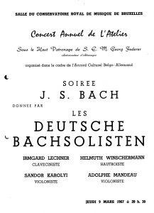 Bachsolisten 67 a