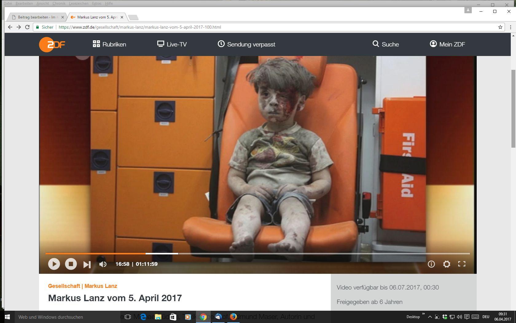 kleiner junge syrien