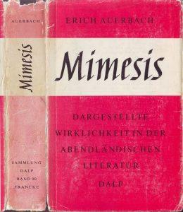 Auerbach Mimesis Cover