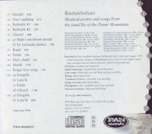 Badakhshan PAN Liste
