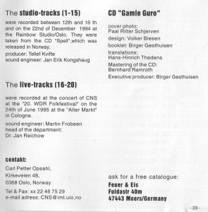 Chateau Neuf CD