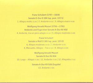 Costa-Violine Programm