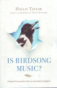 Hollis Taylor Bird Music cover a