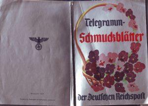 Telegramm Reichspost Deckblatt