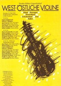 West-Östliche Violine 1984 ok