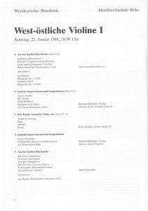 West-Östliche III 2