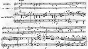 Beethoven op 2,1 Motiv