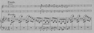 Beethoven op 2,1 letzter Satz