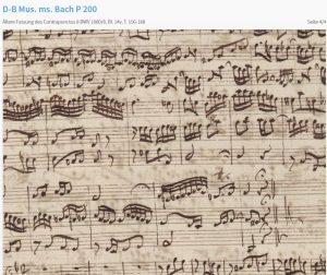 Bach Kunst der Fuge älter 8 Ende