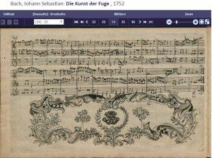 Bach Kunst der Fuge 8 Ende