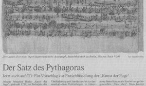 Bach Pythagoras FAZ
