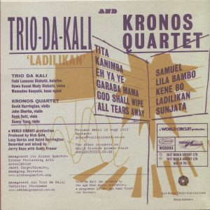 Kronos & Trio Da Kali