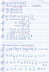 Choral & Hymnus Übersicht neu