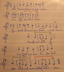 Choral Mit Fried und Freud