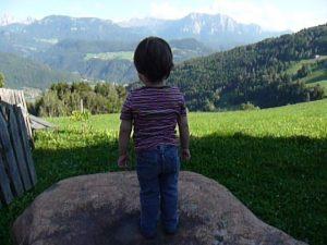 Kleines Kind, große Welt