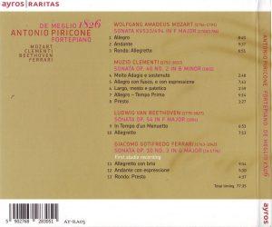 MEGLIO 1826 pianoforte Cover b