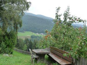 Südtirol 2011 Blick aus der Ferne 110805