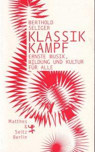 Berthold Seliger Cover a Klassik