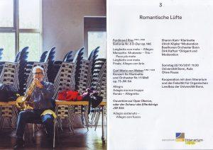 Bonn Konzert Romantische Lüfte
