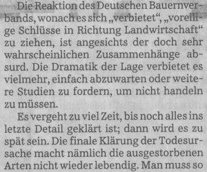 Insekten Süddeutsche