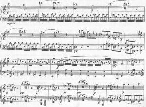 Mozart Sonate Durchführung