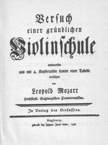 Mozart Titelblatt innen