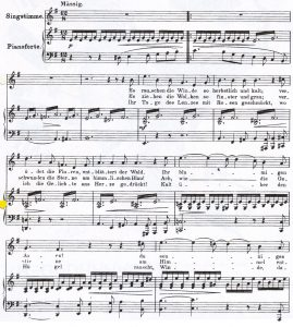 Schubert Herbst I Noten +