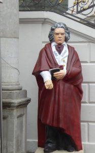 Bonn Beethoven am Rathaus
