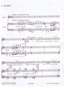 Debussy Soupir a