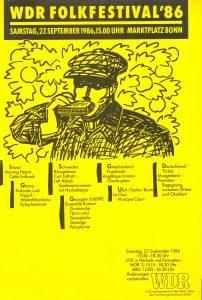 Festival Bonn 1986 Plakat