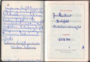 Kalender 1960 Benn