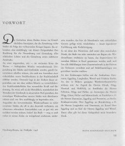 Organische Stadtbaukunst Vorwort 1948