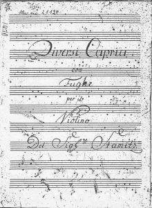 Stamitz Titelblatt
