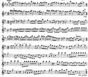 Telemann Fantasia XII