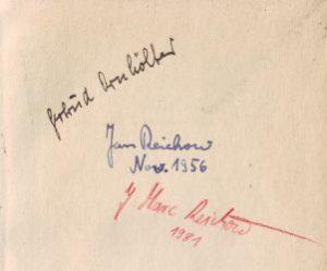 Zarathustra Signaturen