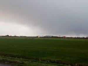 Blick von Bos en Duin nach Den Hoorn