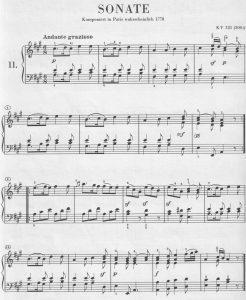 Mozart A-dur