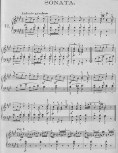 Mozart A-dur alt