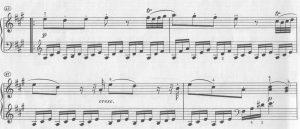 Mozart A-dur crescendo