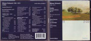Schoeck CD Lieder