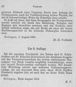 Vorländer Voworrte bis 1913