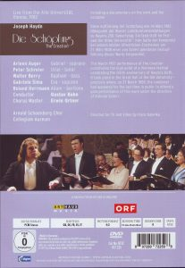 Haydn Schöpfung DVD Cover rück