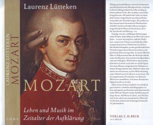 Lütteken Mozart Buch Cover
