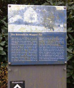 Tafel Böhmen Wuppertal