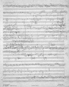 Bartok Skizze