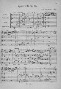 Beethoven op 132 Artur1921 Anfg