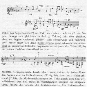 Czaczkes b-moll Zwischenspiel